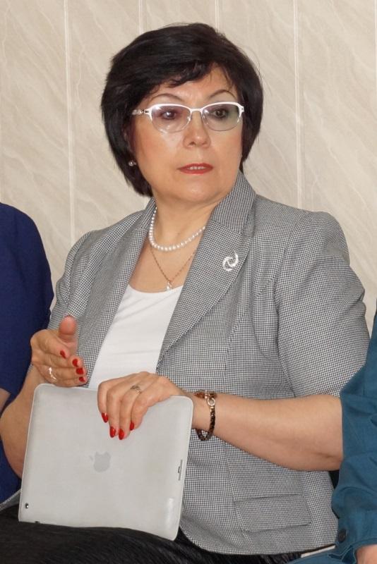 Председатель Комитета по образованию Усольского района Н.Г. Татарникова